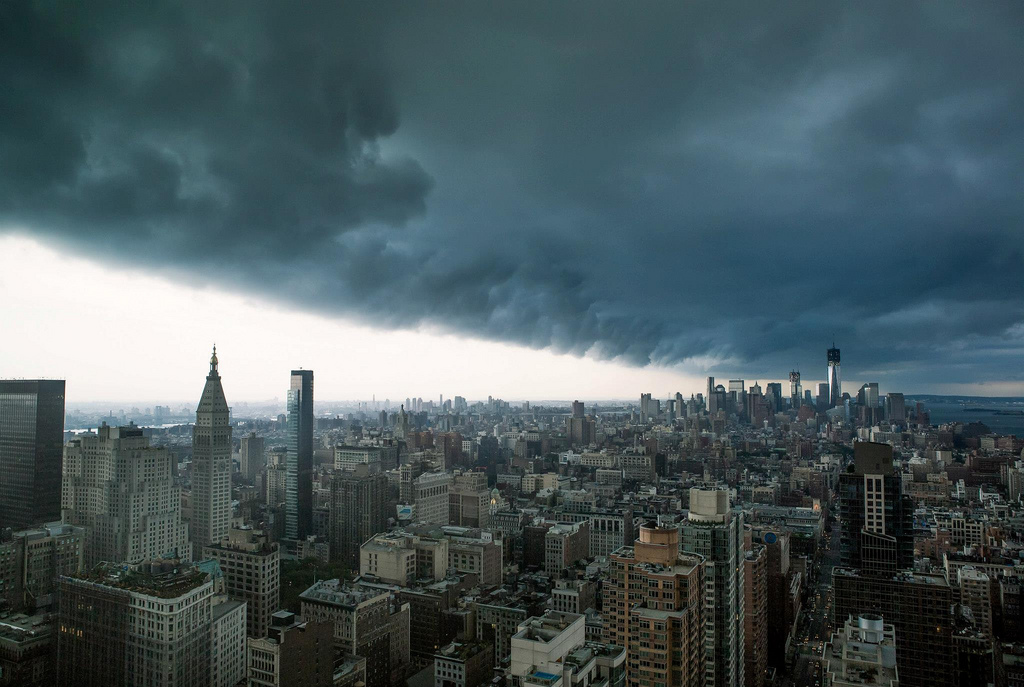 Storm over NYC