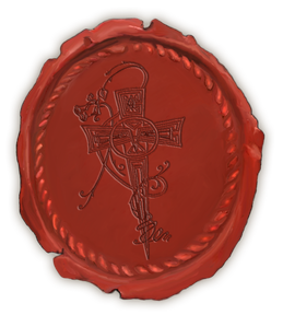 Rose & Cross Wax Seal